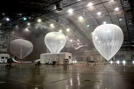 谷歌使用氦气球提升互联网连接能力