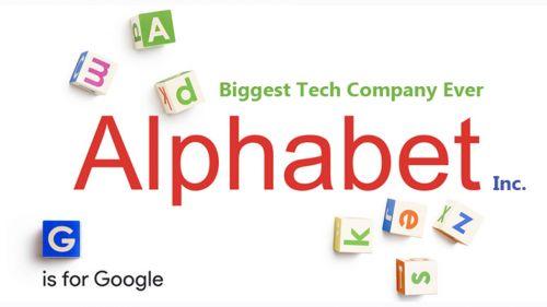谷歌新公司为何命名Alphabet