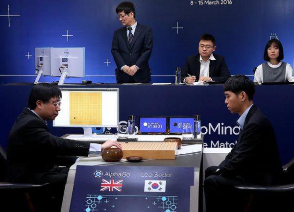 谷歌人工智能围棋程序AlphaGo战胜李世石