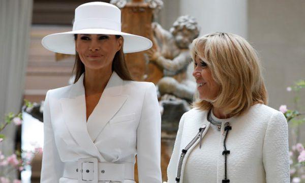 法国第一夫人如何评价美国第一夫人