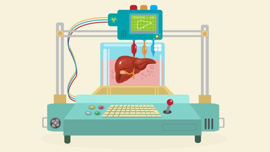 3D打印人体器官就要来了 速度比你想象的要快