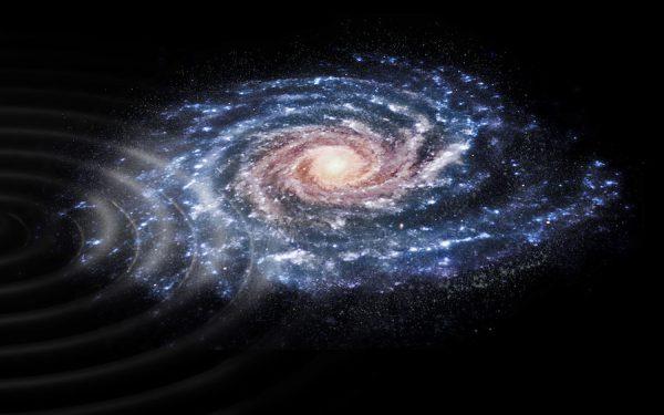 欧洲航天局,我们的银河系仍然经受着近距离碰撞的影响